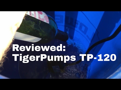Tiger Pumps TP-120 Review and Demo