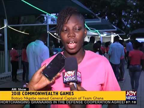 2018 Commonwealth Games - AM Sports on JoyNews (29-3-18)