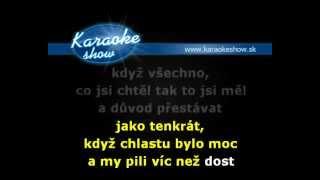 ALKEHOL    A CHLASTU BYLO MOC karaoke skrátená verzia