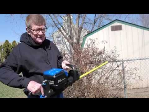 Kobalt 80v Electric Hedge Trimmer Review