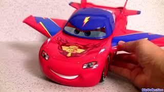 CARS Design & Drive Gear Up Lightning McQueen Hawk Plane Transformer Toys 디즈니카 합체놀이 장난감입니다