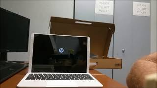 HP X2 10in 2 in 1 Uboxing