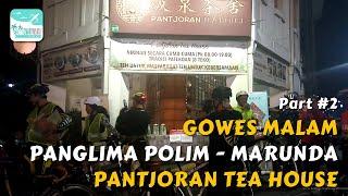 Video #2 Gowes Malam #1 Para Kombes ke Marunda - Rute : Panglima Polim - Pantjoran Tea House