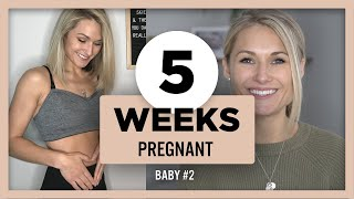 5 Weeks Pregnant Update | Rainbow Baby, Positive pregnancy affirmations, Sick while pregnant