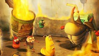 LARVA - FIRE TRAP | Cartoon Movie | Cartoons For Children | Larva Cartoon | LARVA Official