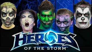 Heroes of the Storm acapella - Live Voices