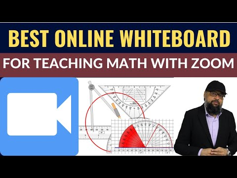 Best Free Online Whiteboard for Math Teaching with Zoom [EdTech Tools]