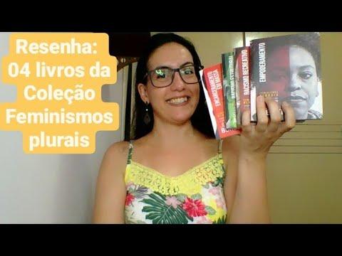 04 livros da Coleção #feminismosplurais.