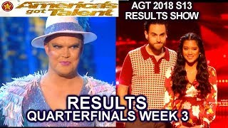 RESULTS QUARTERFINALS 3 Us the Duo Hans America's Got Talent 2018 AGT