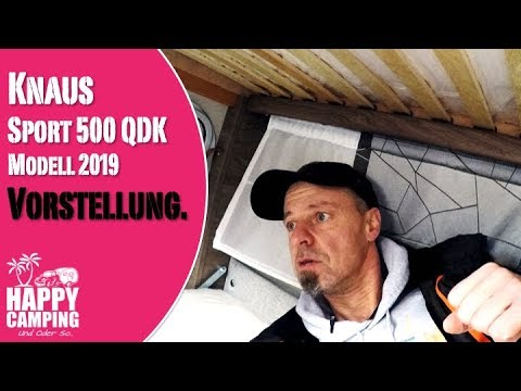 Vorstellung Knaus Sport 500 QDK Silver Selection Modell 2019 | Happy Camping