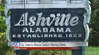 City Votes to Silence Outdoor Warning Sirens in Ashville