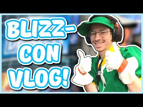 Overwatch - MEI COSPLAY AT BLIZZCON (Blizzcon Vlog #2)
