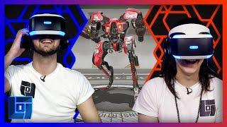 RIGS – The PlayStation VR Headset Showdown – AliA vs Mantrousse