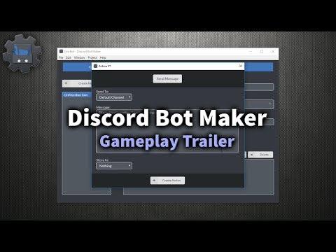 Discord Bot Maker 1 Basics