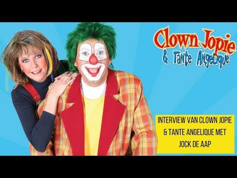 Clown Jopie & Tante Angelique op TV Dordrecht | JB Productions