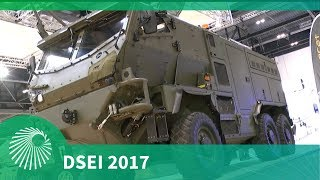 DSEI 2017: Supacat's HMT Light Weight Recovery Vehicle