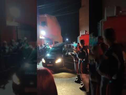 Colegas fazem homenagem a motorista do SAMU que morreu por Covid-19 em Sorocaba