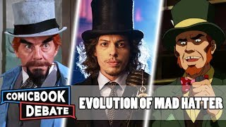 Evolution of Mad Hatter in Cartoons, Movies & TV in 8 Minutes (2019)