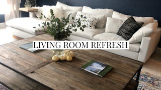 Living Room Refresh Vlog | Painting, Decorating, Macrame And More