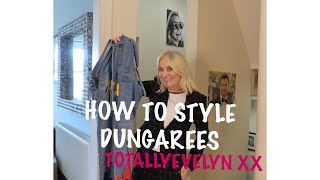 HOW TO STYLE DUNGAREES / AND HIDE THEM FROM YOUR SISTER #styledungarees #sisterlylove #totallyevelyn