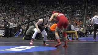 Cornell Wrestling – NCAA Friday – Vitali Arujau