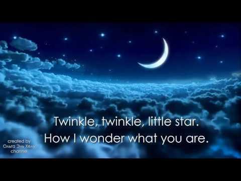 Twinkle Twinkle Little Star with Lyrics. Covered by Olga El Helou