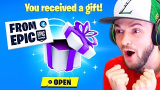 EPIC Sent Me a *SECRET* GIFT! (FIRST LOOK) by Ali-A