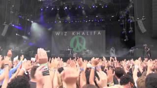 Wiz Khalifa - When I'm Gone + No Sleep LIVE @ Rock Werchter 2012