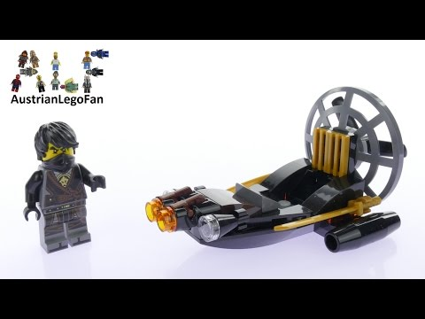 Vidéo LEGO Ninjago 30426 : Stealthy Swamp Airboat (Polybag)