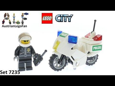 Vidéo LEGO City 7235 : La moto de police