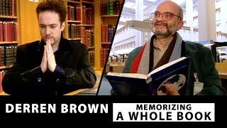 Memorizing A WHOLE Book | MIND CONTROL | Derren Brown