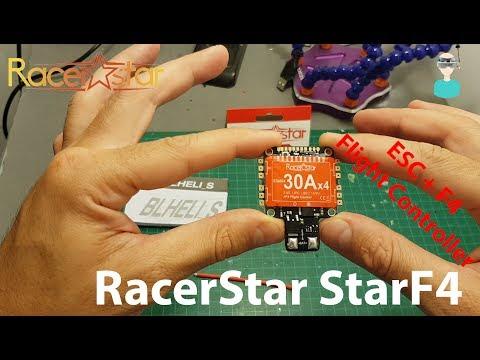 Racerstar StarF4 30A 2-4S Blheli_S 4 in 1 ESC AIO F4 BF3.1 Flight Controller (From Banggood.com)