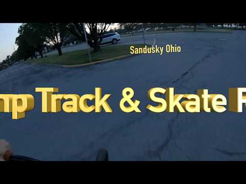Sandusky, Ohio Pump Track & Skate Park: Just Passing Thru