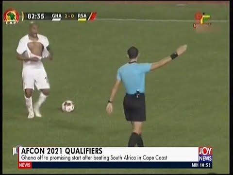 Sports Desk on JoyNews (15-11-19)