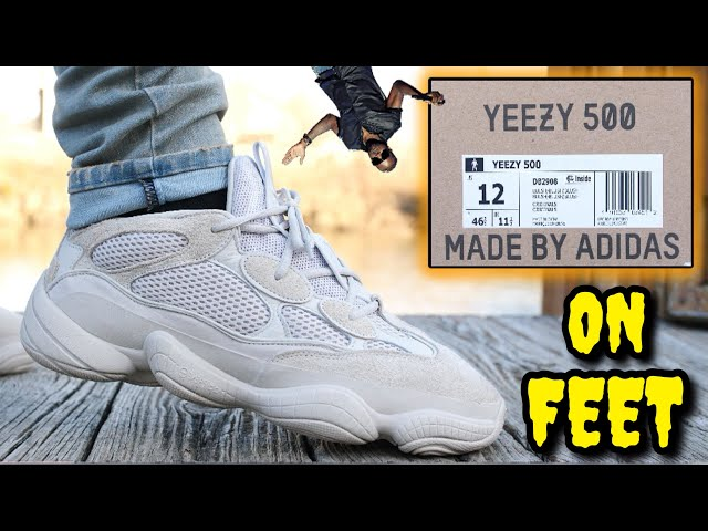 0ba21543b48 Video ADIDAS YEEZY 500 BLUSH REVIEW   ON FEET! Watch BEFORE You Buy!