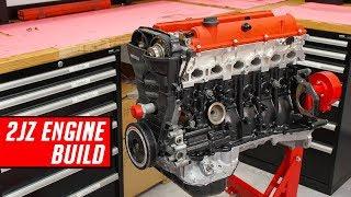 Toyota 2JZ Engine Build - Full Start to Finish