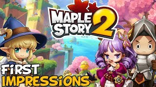 "MapleStory 2 First Impressions ""Is It Worth Playing?"""