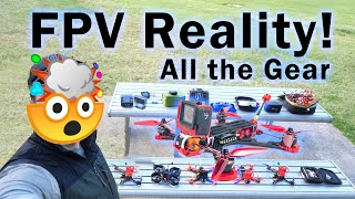 How to get into FPV drones a WARNING for beginners (I show all my drone equipment)