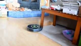 iRobot Roomba 650 first use