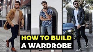 BUILDING A MENS WARDROBE For Beginners | The BASICS | Mens Fashion