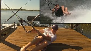How to Perform a Tumble Up Barefoot Waterskiing Start