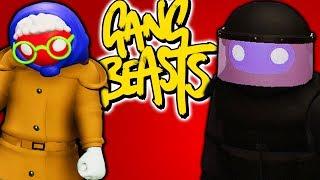 БАБУШКА VS СПЕЦНАЗ - Gang Beasts