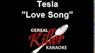 CKK   Tesla   Love Song (Karaoke)