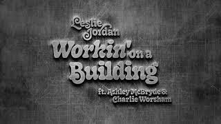 Leslie Jordan Working On A Building