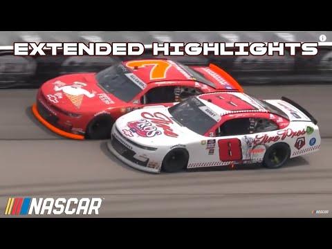 NASCAR レベル400 (ダーリントン・レースウェイ)Xfinity ハイライト動画