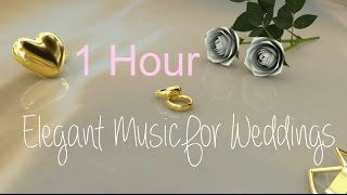 Wedding music instrumental love songs playlist 2016: Classical Collection (1 Hour HD Video)