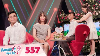 Wanna Date | Ep 557 FULL: Quyen Linh and Hong Van argue on stage because of the man