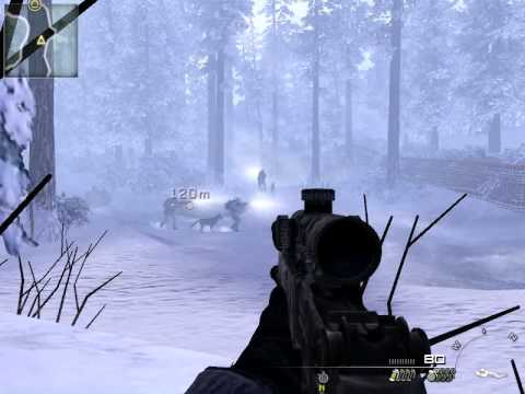 CoD 6 MW 2 Snow Sniper Mission (Special Ops)