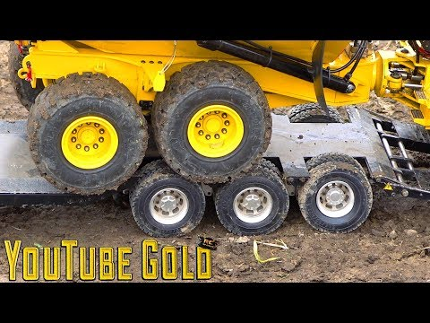 YouTube GOLD - ROADS PAVED with GOLD!  A Miniature Mining Show (s2 e9) | RC ADVENTURES