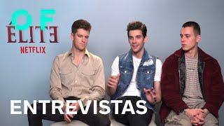 'Élite' temporada 3: entrevista a Miguel Bernardeau, Álvaro Rico y Arón Piper